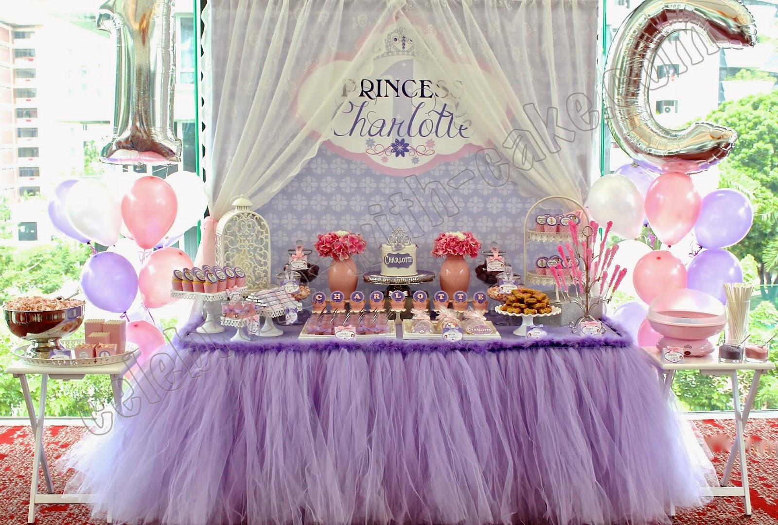 Princess Themed Dessert Table Click Post To View More