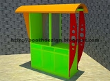 BIKIN BOOTH COUNTER BOOTH FRANCHISE