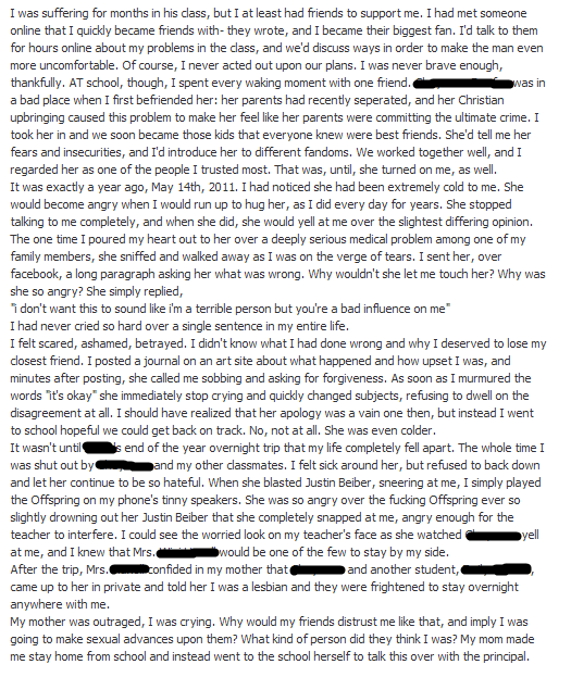 essay should have facebook