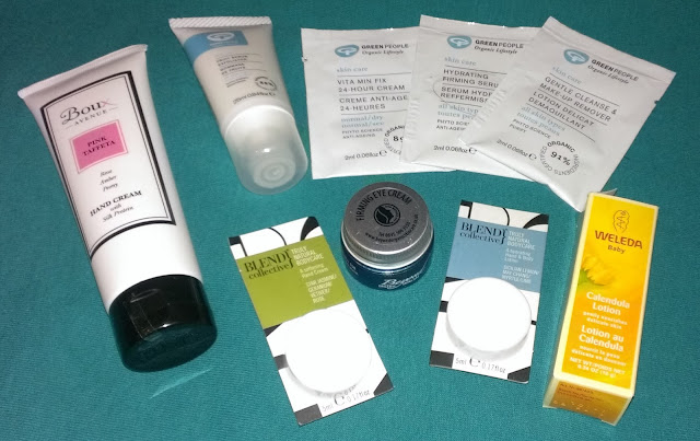 Beauty Blogger goody bag skin goodies B