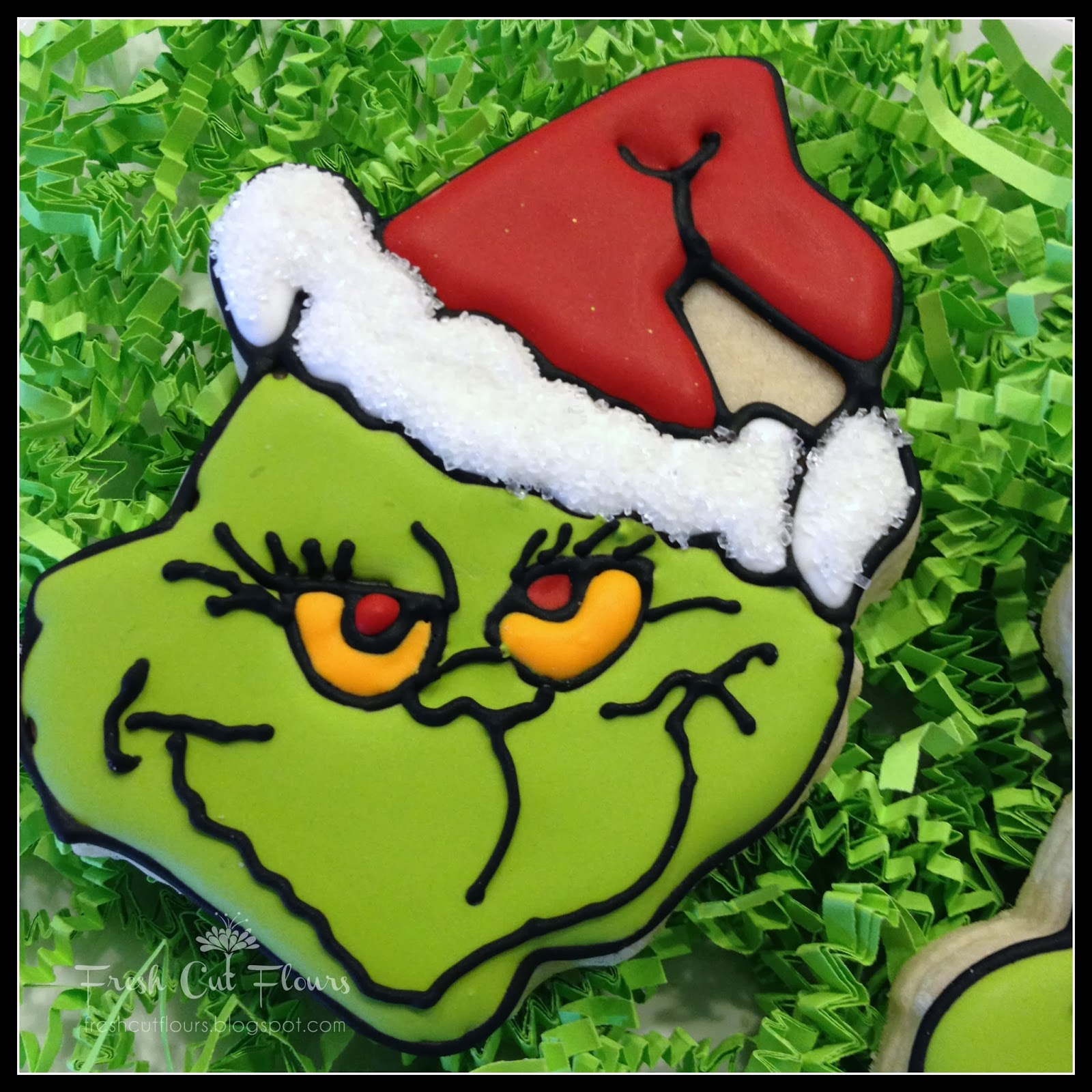 Grinch Face None other than mr. grinch,