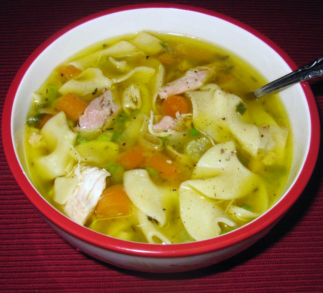 Cooking with K | Southern Kitchen: Homemade Chicken Noodle Soup