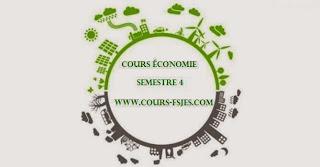 Cours fsjes s(4) Semestre 4 économie