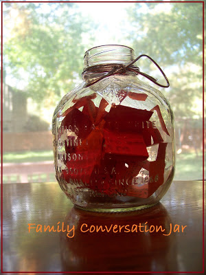 KC Edventures-Family Conversation Jar