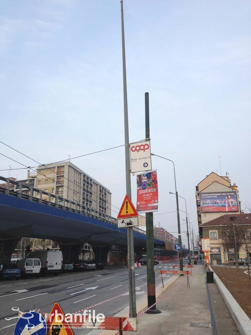 Urbanfile milano il viale dei pali for Viale serra milano