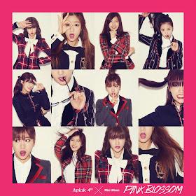 Apink Pink Blossom Album Cover