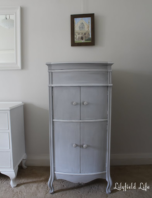 Grey Weathered Driftwood Effect Cabinet by Lilyfield Life