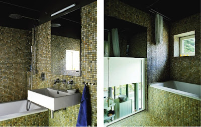 Mosaic Tile Bathroom Design
