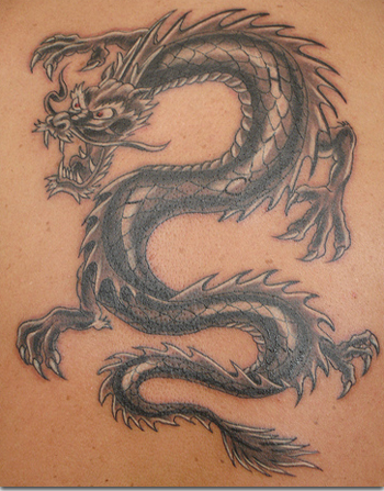 DESIGN DRAGON TATTOOS FROM JAPANESE