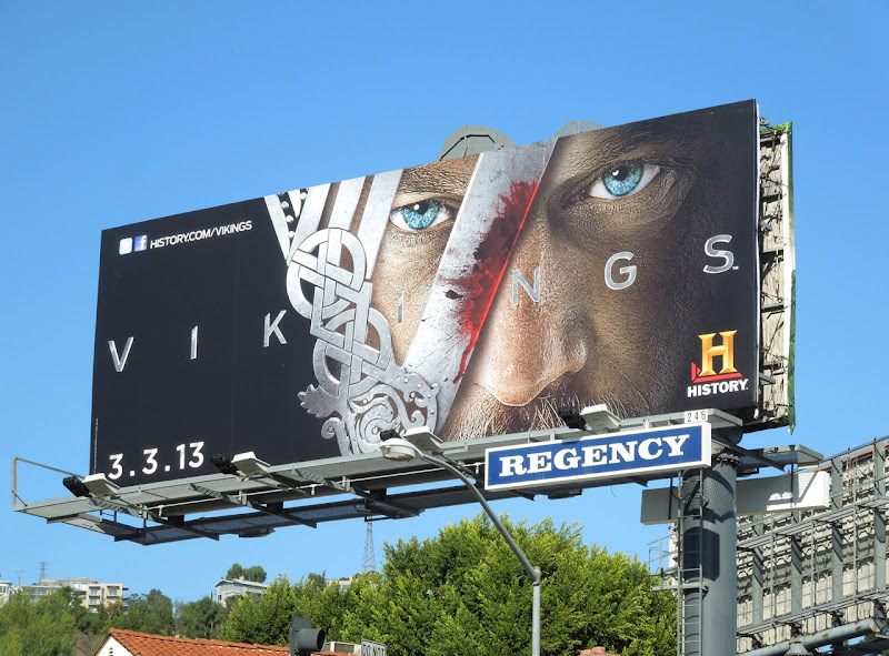 Vikings season 1 History billboard