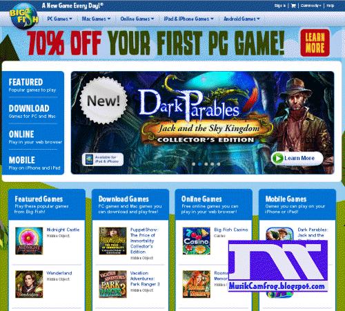 Situs Game Online Free bigfishgame