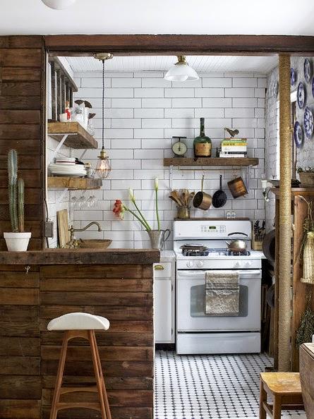 Home gran makeover en vintage escandinavo en el centro de manhattan virlova style - Cocinas retro vintage ...