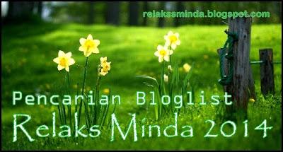 Pencarian Bloglist Relaks Minda 2014