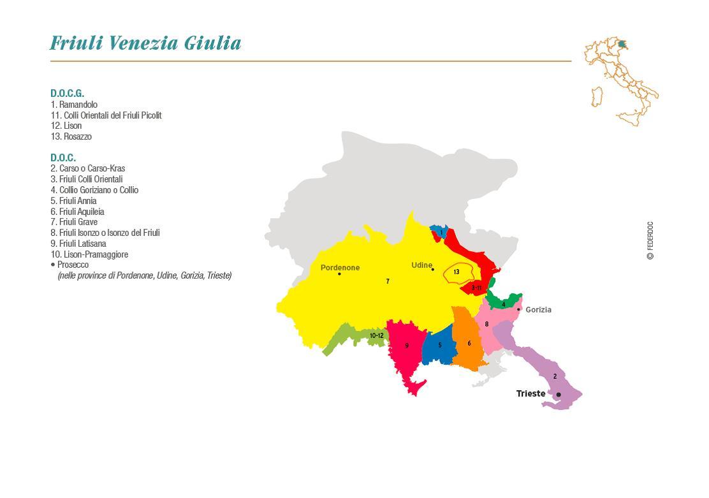 Vino travels an italian wine blog preview to the food for Progettazione giardini friuli venezia giulia