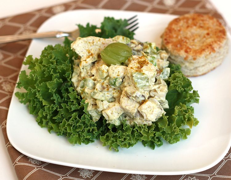 Radishes and Rhubarb: Curried Chicken Salad