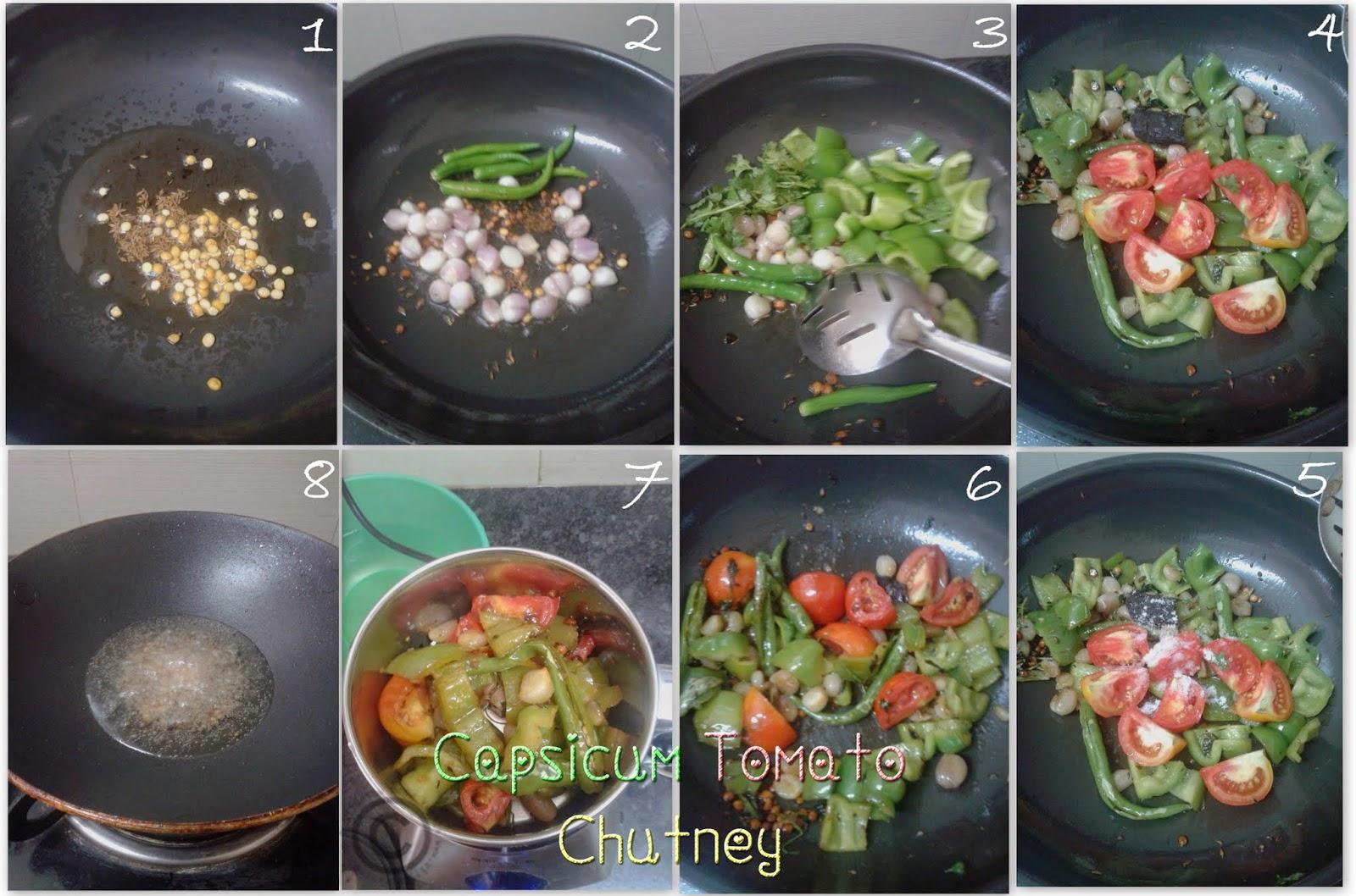 Capsicum chutney recipe capsicum tomato chutney recipe