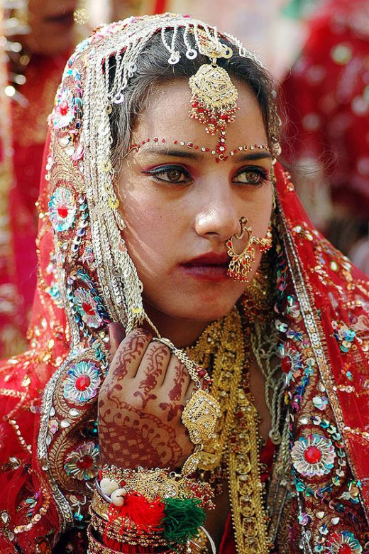 In a Hindu wedding the multiplicity of creation becomes possible when