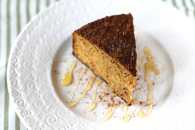 Healthy Maple Cinnamon Castella Cake