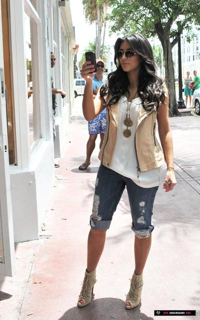 Kim Kardashian Go Shopping Kim Kardashian In Fashion Style