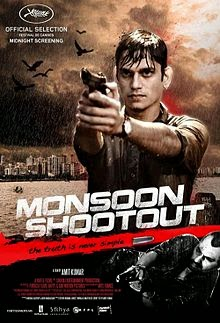 Bollywood movie Monsoon Shootout (2014) film First Look Poster, Pictures, images, wallpapers