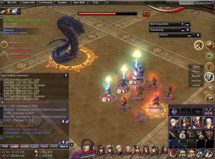 Atlantica Online Indonesia Gemscool