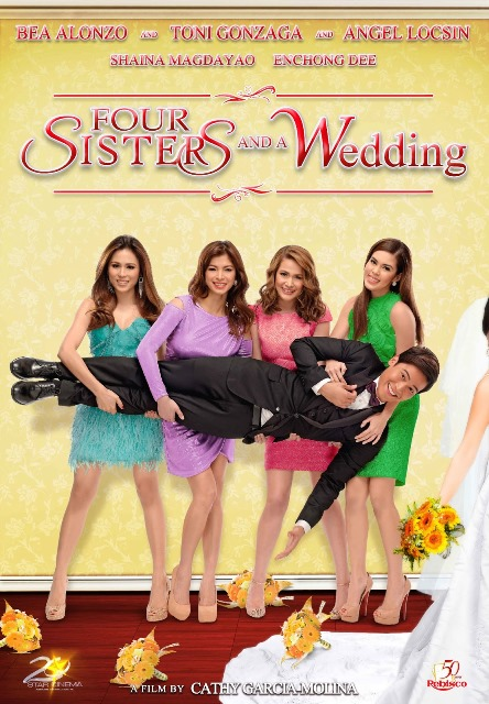 Four Sisters and A Wedding Poster with billing
