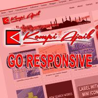 Kompi Ajaib Sekarang Menjadi Responsive Blog