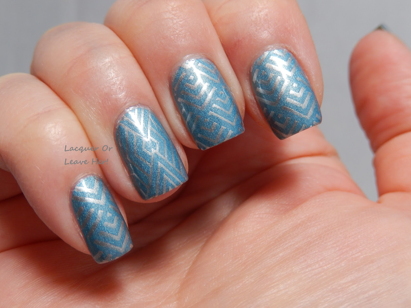 Lacquer or leave her before after deco diamonds with it girl nail art ig101 - Deco nail art ...