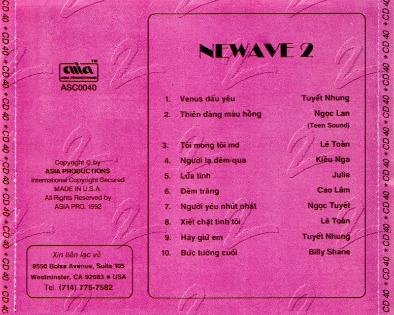 4sVN] - Asia CD 040 : Various Artists - New Wave 2 [WAV]   HDVietnam com