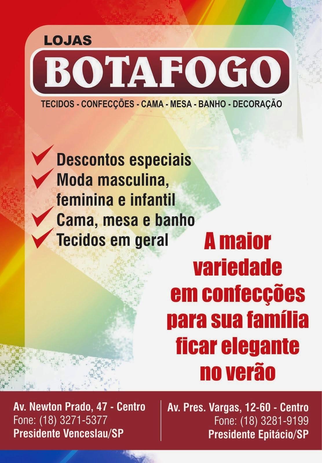 Clique aqui e veja as novidades da Botafogo