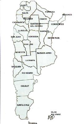 Mapa de Argentina. Lugares del mundo. Lugares Sorprendentes Turismo Internacional Turismo Argentino - Turismo en Argentina