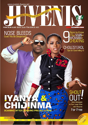 Iyanya & Chidinma On Juvenis Cover