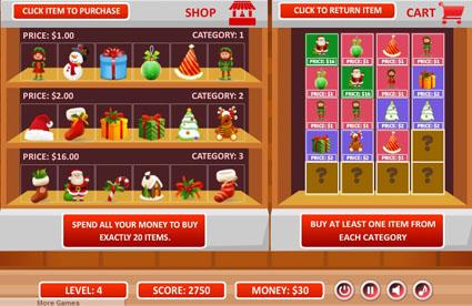 Christmas Shopping Challenge