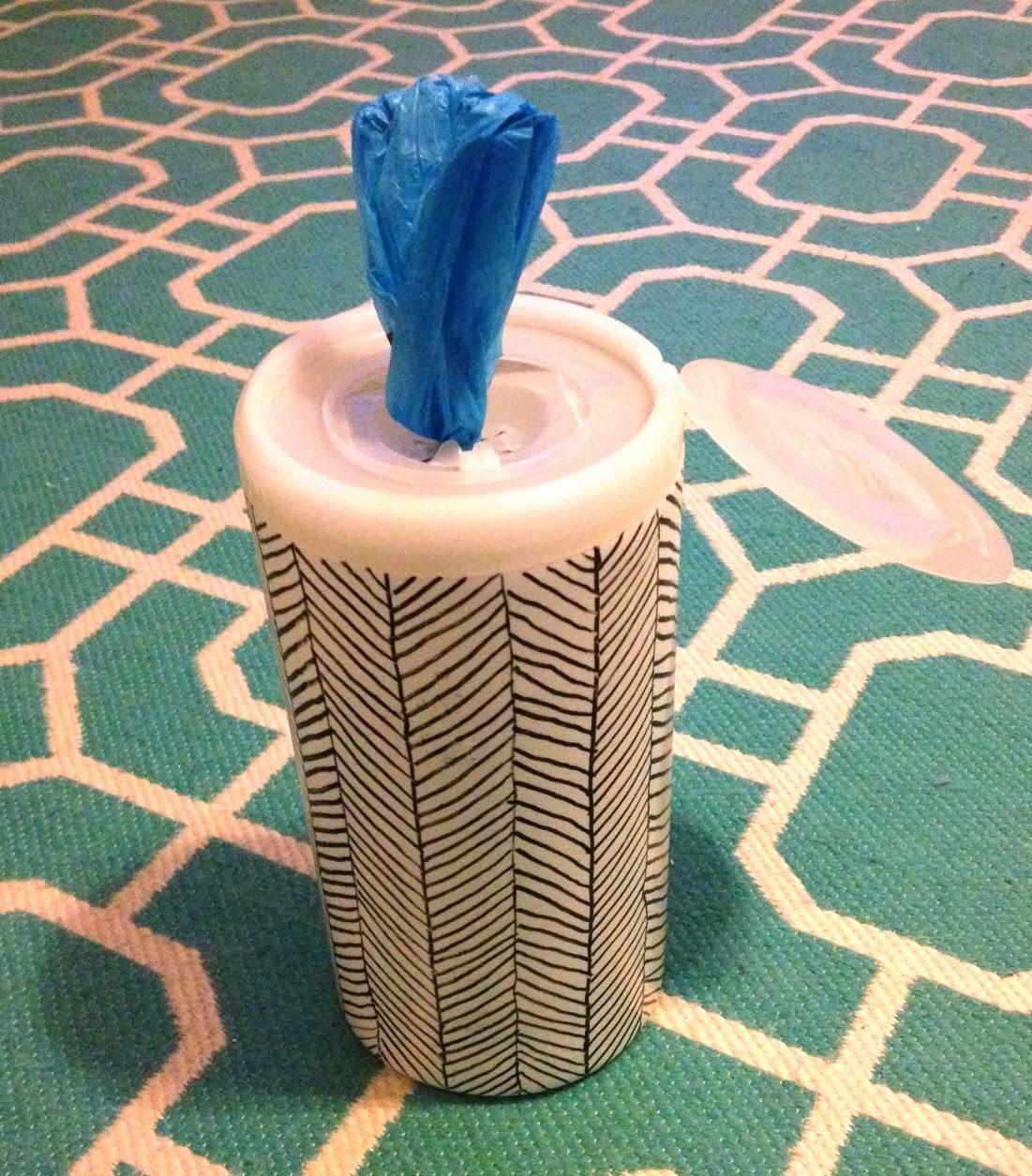 Diy plastic bag dispenser the surznick common room