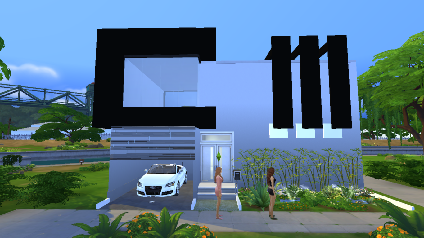 O W L My House In The Sims 4 Small Minimalist House