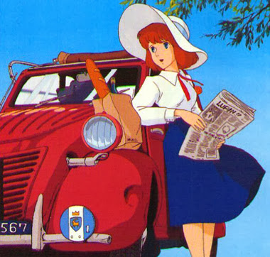 Clarisse from The Castle of Cagliostro