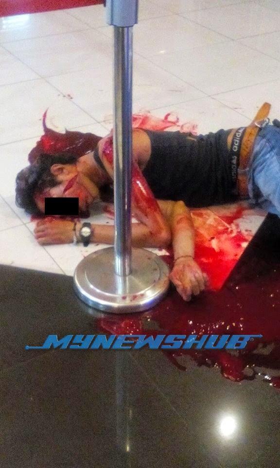 Lelaki Ditetak Depan Panggung Wayang Di Klang, info, terkini, berita, jenayah,