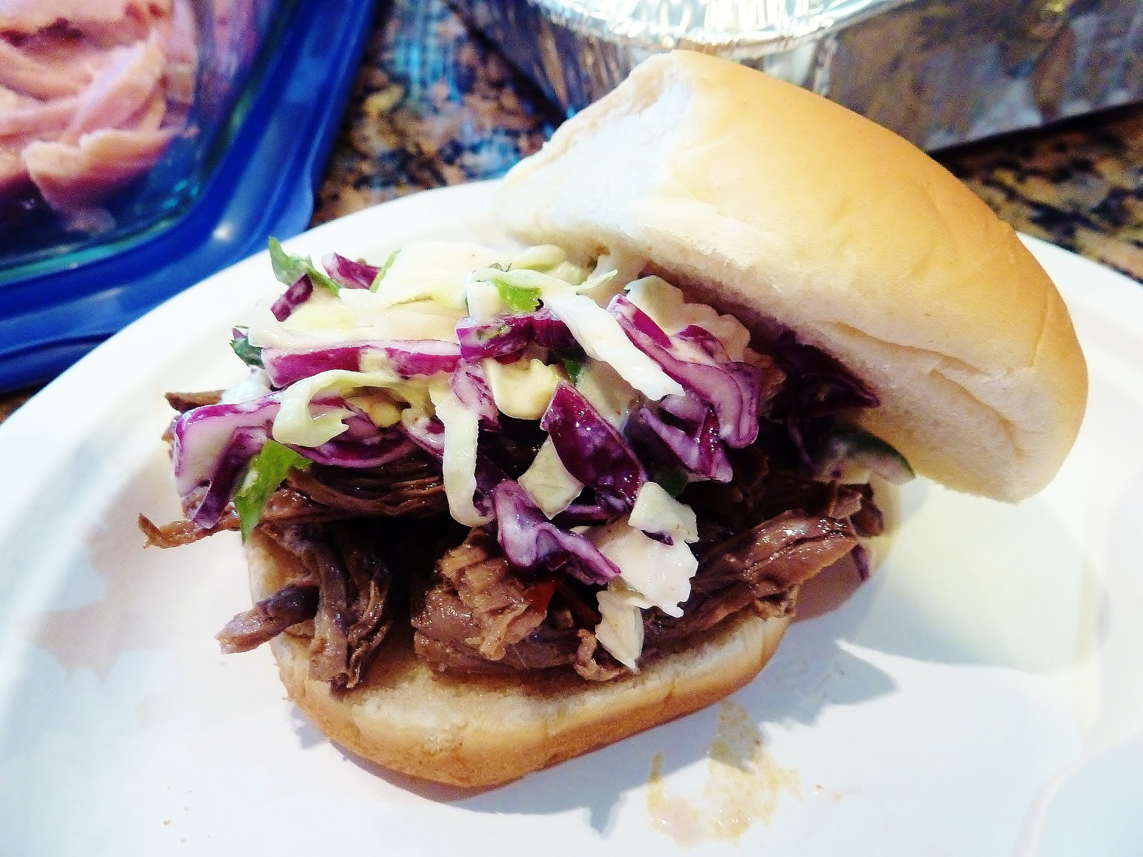 ... Kitchen Chronicles: Pork Sandwiches with Cilantro-Jalapeno Slaw