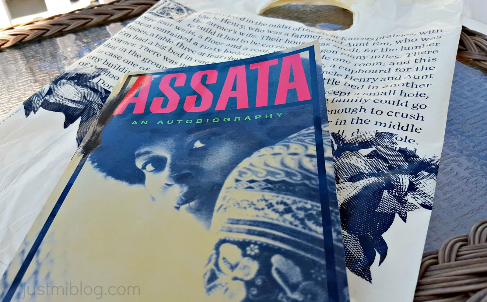Assata is the first book being read in our book club