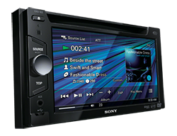 Head Unit Duble Din Sony XAV-63