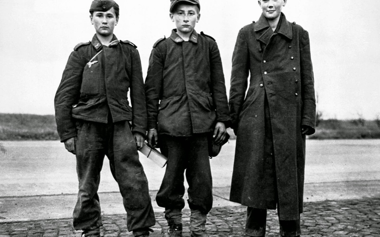 Boy soldiers nazi germany