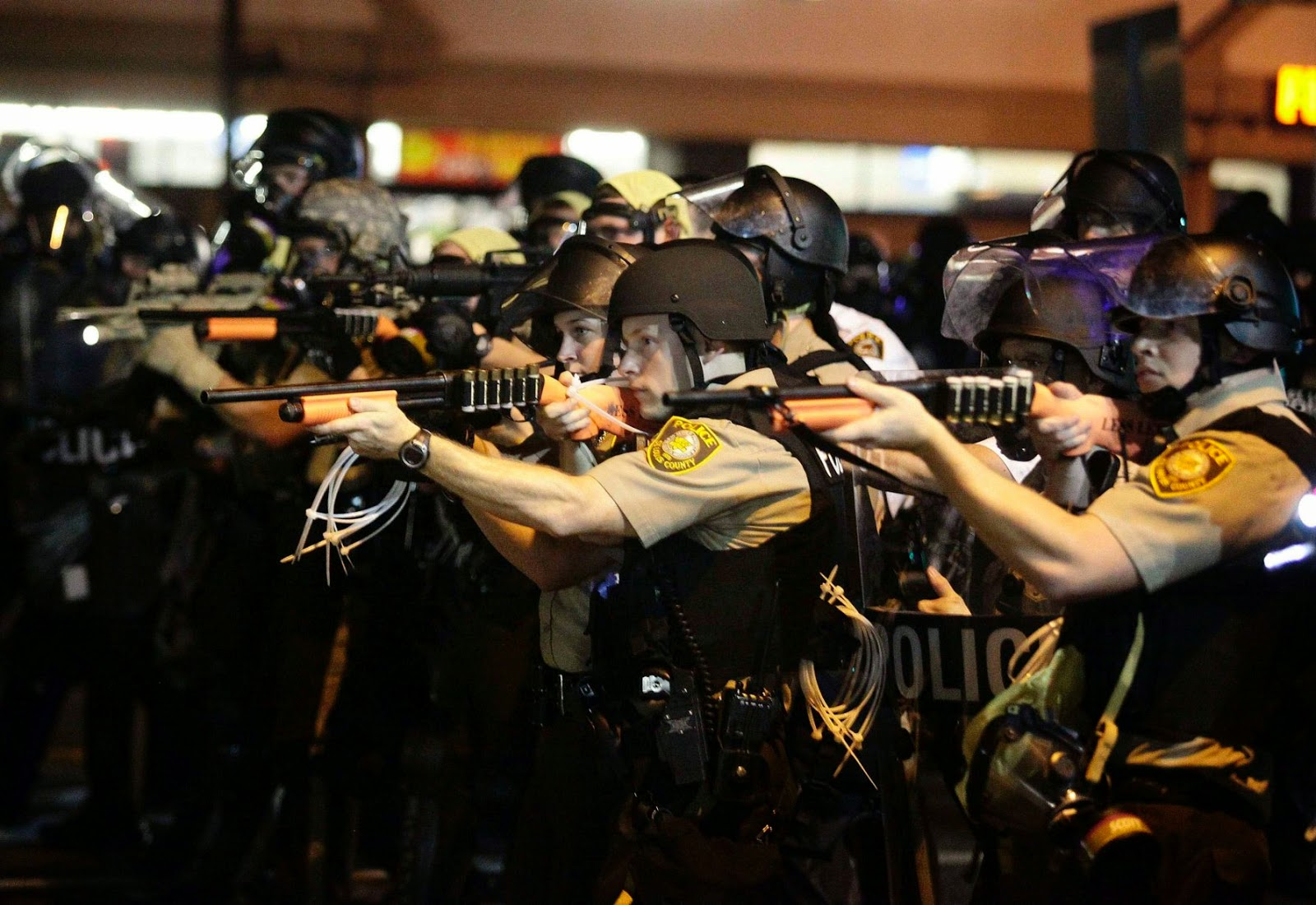 $40 million lawsuit slams Ferguson police actions during recent protests
