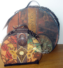 Mall på resväska