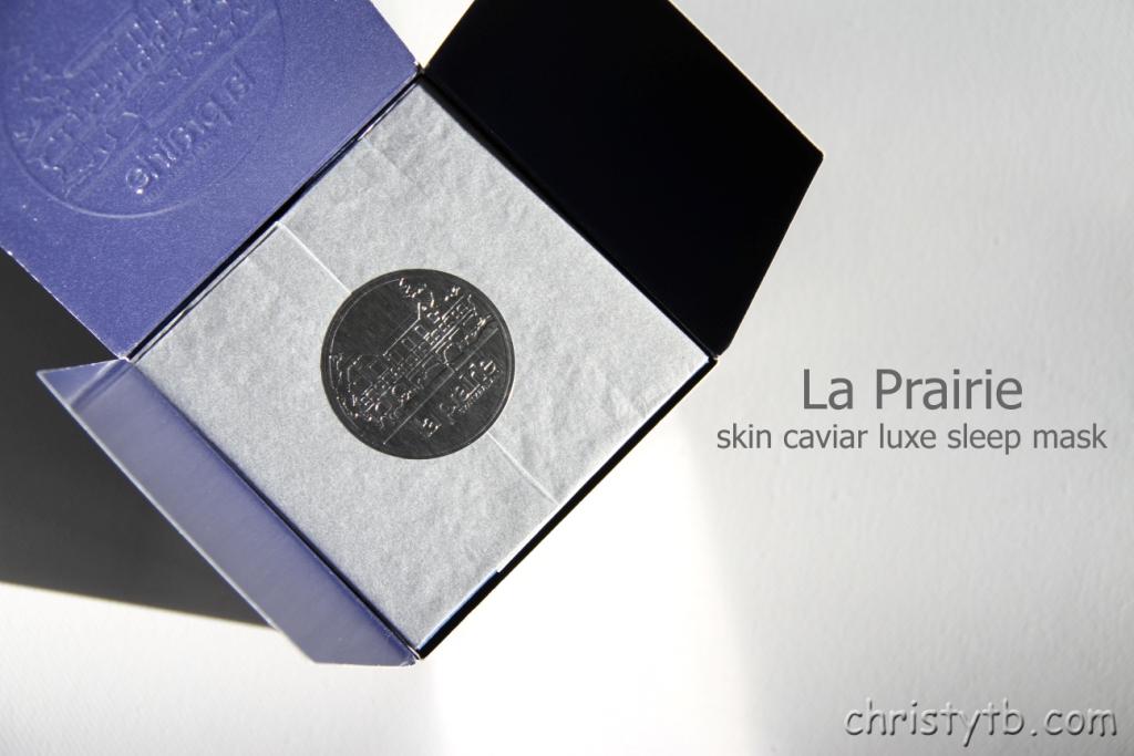 Ночная маска La Prairie skin caviar luxe sleep mask