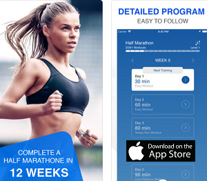 Fitness App of the Month - 21K Run Trainer