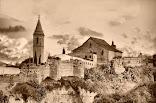 La ciudad de Hisn Shaluqa, en el aljarafe musulmán. Sanlúcar la Mayor.