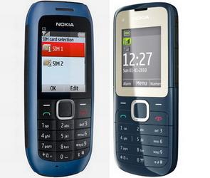 Nokia dual SIM phones C1-00 and C2 launched