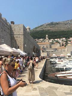 näkymä vanhan kaupungin venepaikoille