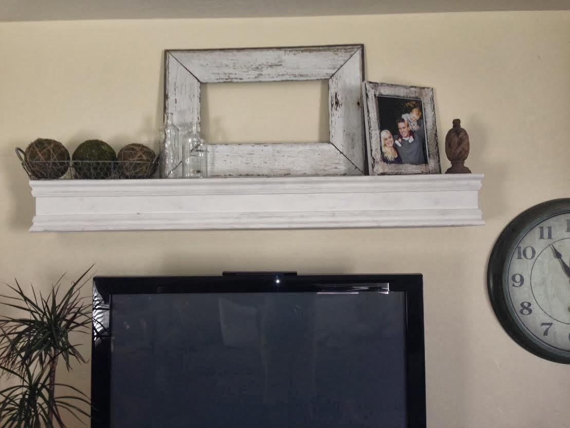 dahl house diy diy mantle shelf. Black Bedroom Furniture Sets. Home Design Ideas