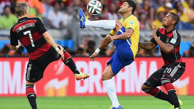 Keputusan German vs Brazil Piala Dunia 2014